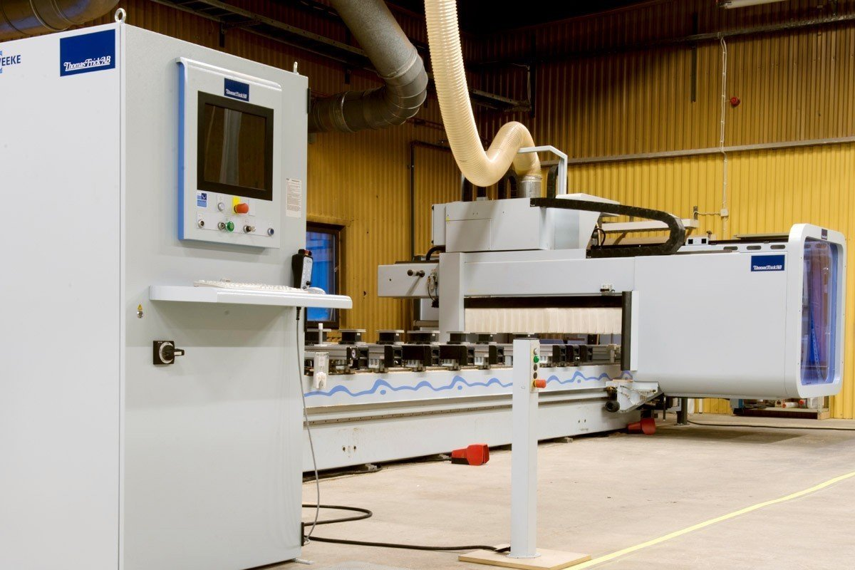 Major machine investment by SSC Lindvalls 1