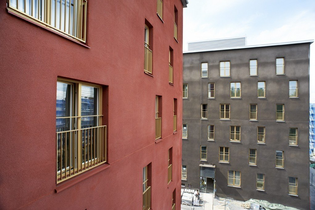 SSC delivers special windows for brand new district in Stockholm 1