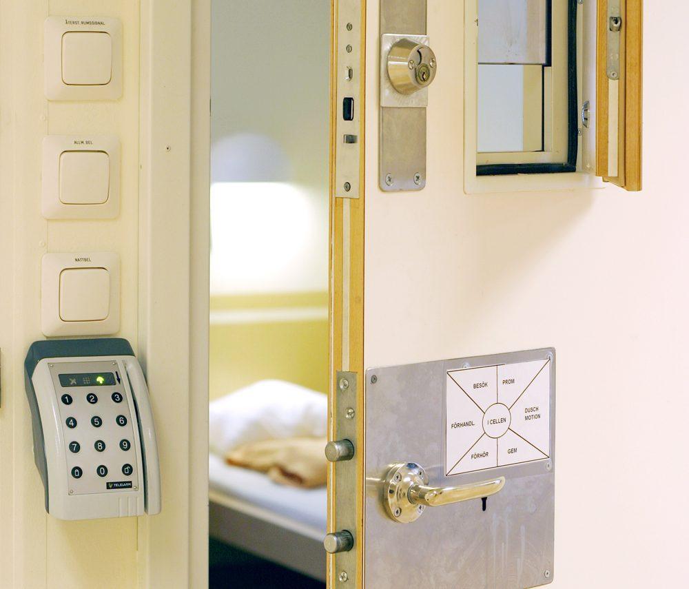 Sveriges största fängelse väljer celldörrar från SSC 1