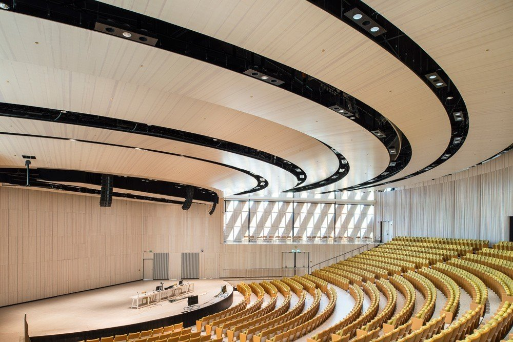SSC a major supplier to the new auditorium at the Karolinska Institute 1
