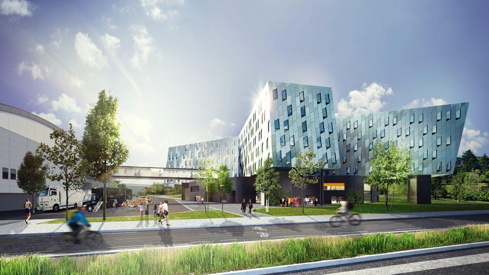 SSC leverer 1000 dører til nytt norsk luksushotell 1