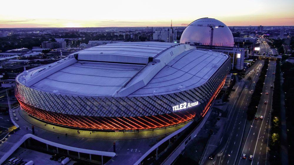 SSC levererade innovativ och kostnadsbesparande panellösning till prisbelönta Tele2 Arena 1