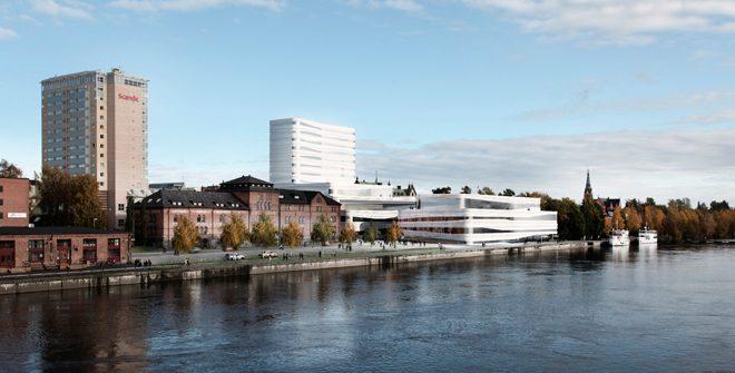 SSC levererar produkter och kompetens till Umeås nya landmärke Väven 1