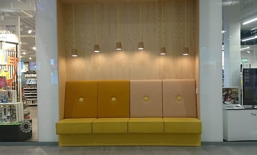 SSC levererar inredning till Umeås nya shoppingcenter 1