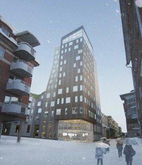 Norra Sveriges nya landmärke har produkter från SSC 1