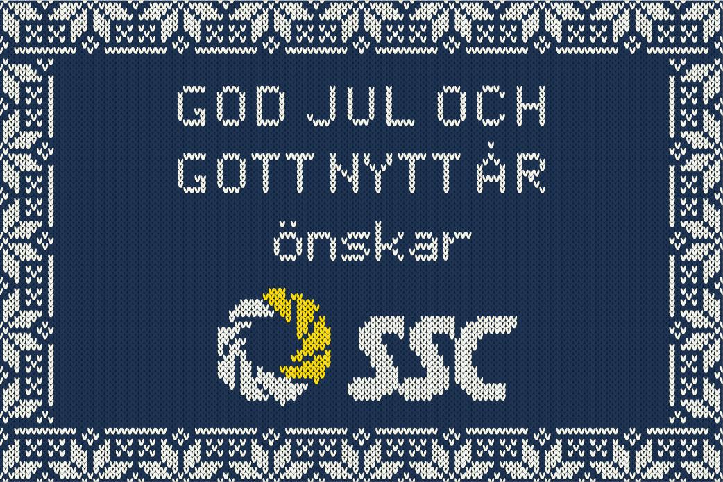 God jul och gott nytt år önskar SSC 1