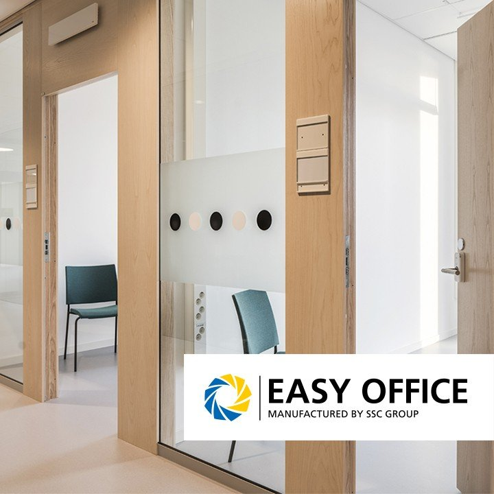 Easy Office - glaspartier, skjutdörrar och portaler