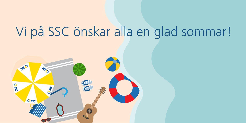 Vi på SSC önskar alla en glad sommar! 1
