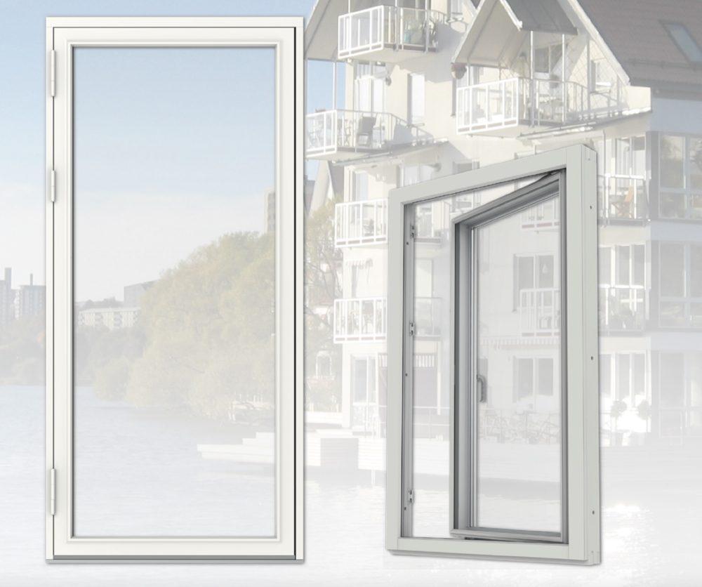 Förbättrad konstruktion ger tätare fönster